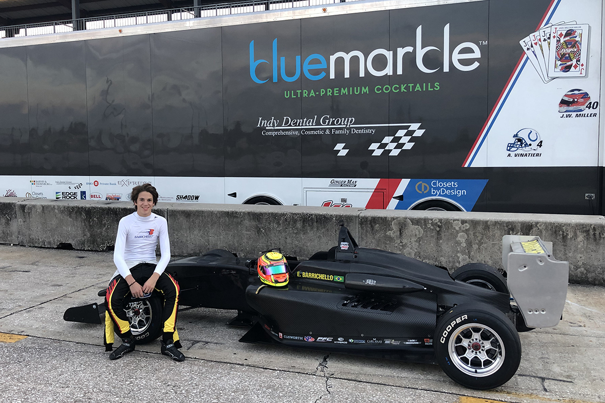 Eduardo Barrichello Joins Miller Vinatieri Motorsports For Usf2000 Debut Season